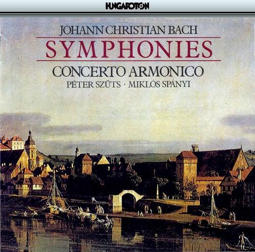 Johann Christian Bach: Symphonies by Miklos Spanyi
