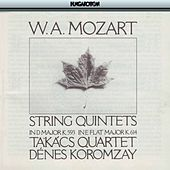 Mozart: String Quintets Nos. 5 & 6 by Denes Koromzay