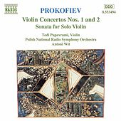 Violin Concertos Nos. 1 and 2 by Sergey Prokofiev