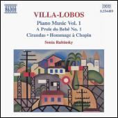 Piano Music Vol. 1 by Heitor Villa-Lobos