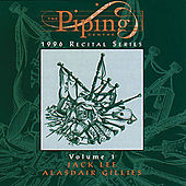 Piping Centre: 1996 Recital Series, Vol. 1 by Jack Lee