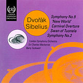 Sibelius: The Swan of Tuonela - Dvorak: Symphony No. 9 by Sir Charles Mackerras
