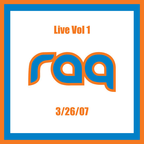 Live Vol 1 by Raq
