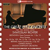 The Great Live Concerts by Sviatoslav Richter