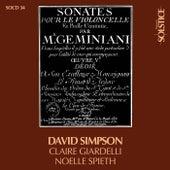 Geminiani - Les 6 Sonates op. 15 pour violoncelle et continuo by David Simpson