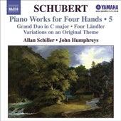 SCHUBERT: Piano Works for Four Hands, Vol. 5 by Allan Schiller