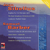 Sibelius: Symphony No. 5 - Barber: Cello Concerto by Various Artists