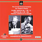 The Great French Sonatas for Violin & Piano by Zino Francescatti