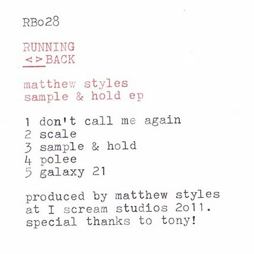 Sample & Hold EP by Matthew Styles