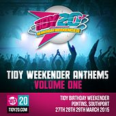 Tidy Weekender Anthems, Vol. 1 - EP by Various Artists