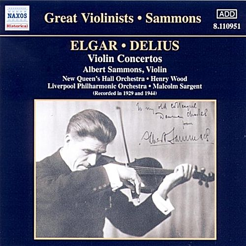 Great Violinists - Sammons - Violin Concertos by Various Artists