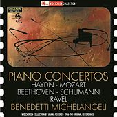 Haydn, Mozart, Beethoven, Schumann & Ravel: Piano Concertos (Live) by Arturo Benedetti Michelangeli