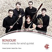 Bonjour!: French Works for Wind Quintet by Various Artists