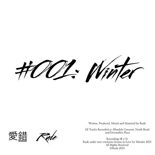 #001: Winter (EP) by RUDE