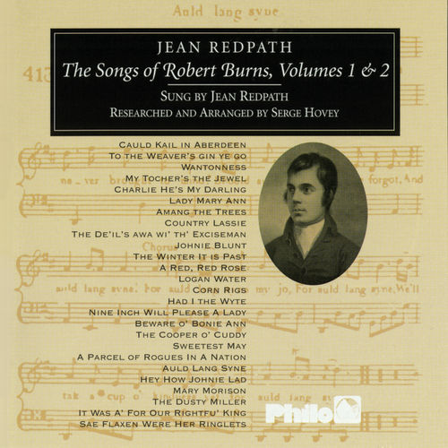 Songs Of Robert Burns Vols. 1 & 2 by Jean Redpath