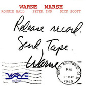 Release Record - Send Tape by Warne Marsh