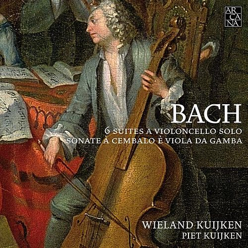 J.S. Bach: Cello Suites & Viola da Gamba Sonatas by Wieland Kuijken