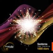 1000 stars by Santerna