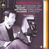 Bach; Ciaccona - Mozart: Adagio K. 261 - Beethoven: Spring Sonata - Paganini: Capricci by Arthur Balsam