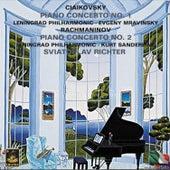 Tchaikovsky: Piano Conerto No. 1 - Rachmaninoff: Piano Concerto No. 2 by Sviatoslav Richter