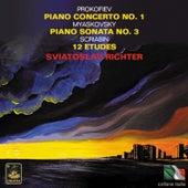 Prokofiev: Piano Concerto No. 1 - Myaskovsky: Piano Sonata No. 3 - Scriabin: 12 Études by Sviatoslav Richter