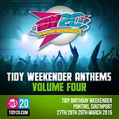Tidy Weekender Anthems, Vol. 4 - EP by Various Artists