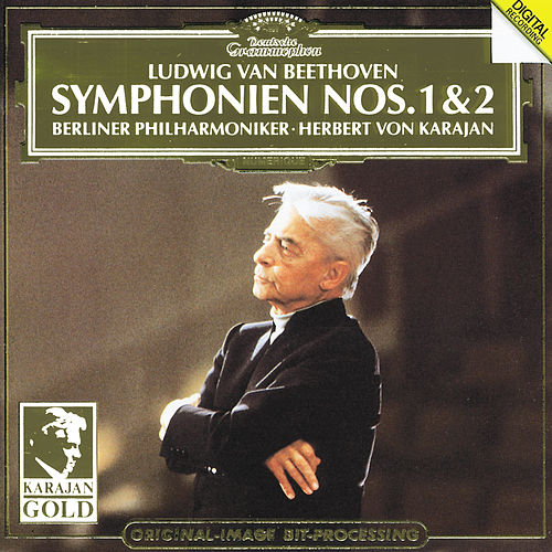 Beethoven: Symphonies Nos.1 & 2 by Berliner Philharmoniker