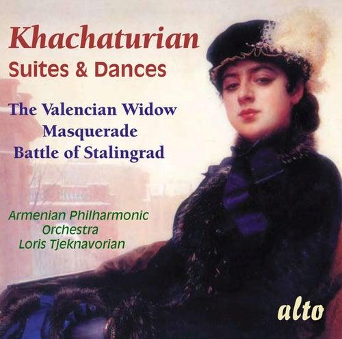 Khachaturian: Suites & Dances - The Valencian Widow, Masquerade, Battle Of Stalingrad by Armenian Philaharmonic Orchestra