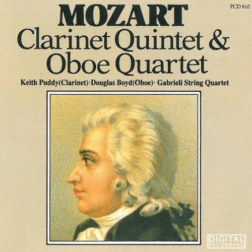 Mozart: Clarinet Quintet & Oboe Quartet by Gabrieli String Quartet