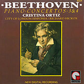 Beethoven: Piano Concertos 3 & 4 by Cristina Ortiz