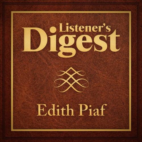 Listener's Digest - Edith Piaf by Edith Piaf