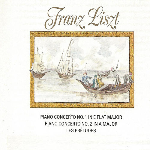Franz Liszt - Piano Concerto No. 1, No. 2 by Alfred Brendel