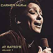 At Ratso's Vol. 1 by Carmen McRae