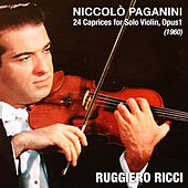 Niccolò Paganini: 24 Caprices for Solo Violin, Opus1 (1960) by Ruggiero Ricci