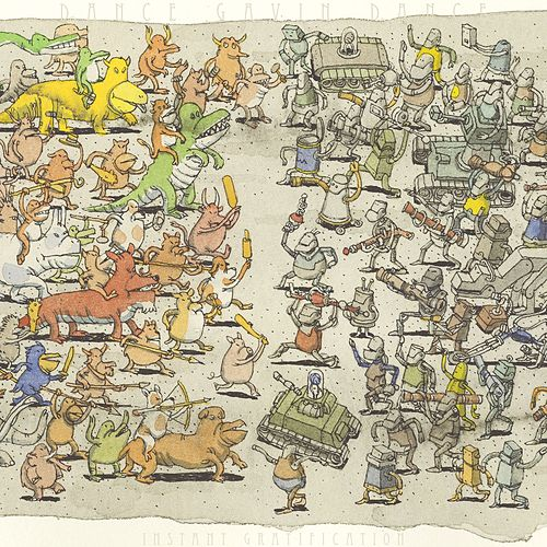 On The Run by Dance Gavin Dance