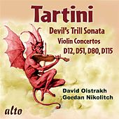 Tartini: Devil's Trill Sonata; Violin Concertos D12, D51, D80, & D115 by Various Artists