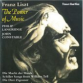 Franz Liszt: The Power Of Music by Philip Langridge