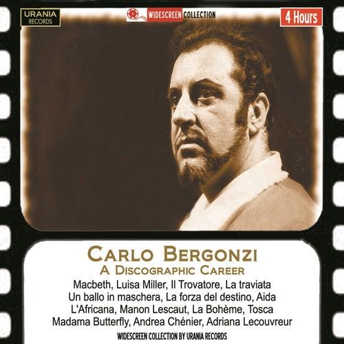 Carlo Bergonzi: A Discographic Career by Carlo Bergonzi
