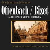Offenbach: Gaite Parisienne & Bizet: Carmen (Highlights) by Andre Kostelanetz & His Orchestra