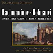 Rachmaninoff: Rhapsody On A Theme Of Paganini/Dohnanyi: Variations On A Nursery Tune, Op. 25 by Julius Katchen