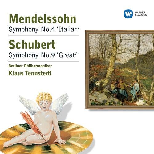 Schubert/Mendelssohn: Symphonies by Klaus Tennstedt