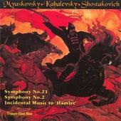 Myaskovsky, Kabalevsky and Shostakovich by Rotterdam Philharmonic Orchestra