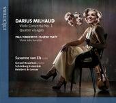 Milhaud & Ysaÿe & Hindemith: Viola Concerto No. 1 / Quatre Visages / Viola Solo Sonatas by Schönberg Ensemble