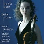 Stravinsky/Brahms: Violin Concertos by Hilary Hahn