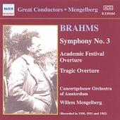 Symphony No. 3 (Historical) by Johannes Brahms