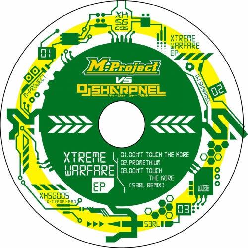 Xtreme Warfare EP (M-Project vs. DJ Sharpnel) - Single by A M Project