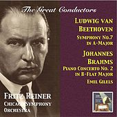 The Great Conductors: Fritz Reiner Conducts Beethoven & Brahms (2015 Digital Remaster) by Various Artists