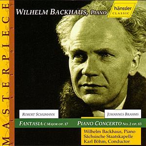 Johannes Brahms - Piano Concerto No.2 Op. 83 / Robert Schumann - Fantasia In C-Major Op.17 by Various Artists