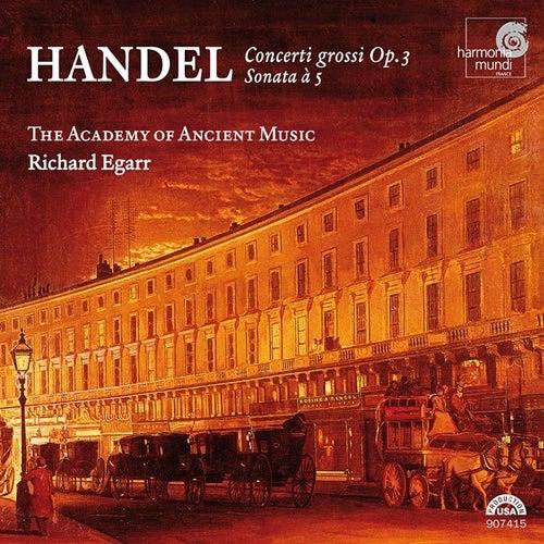 Handel: Concerti grossi Op. 3 by George Frideric Handel