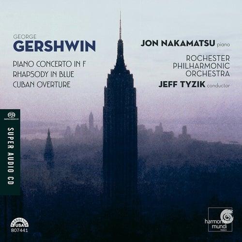 Gershwin: Piano Concerto in F, Rhapsody in Blue, Cuban Overture by George Gershwin